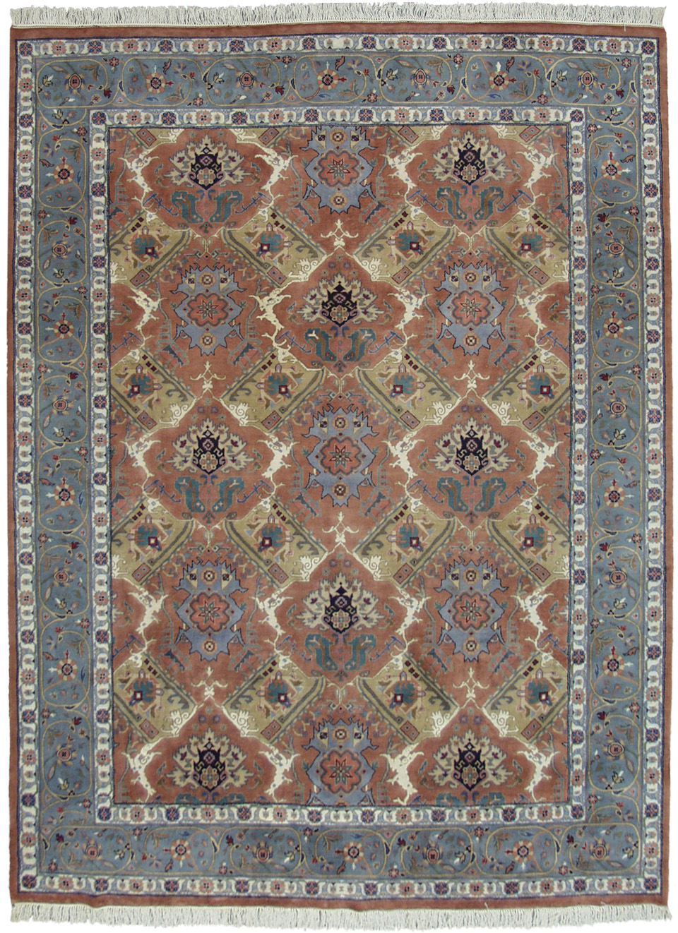 9×12 Bakshaish Design Rug