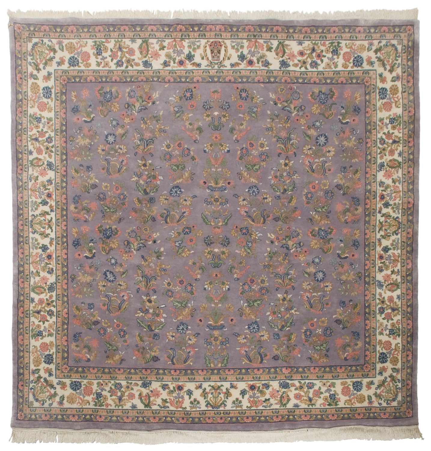 10 Sarouk Design Square Rug