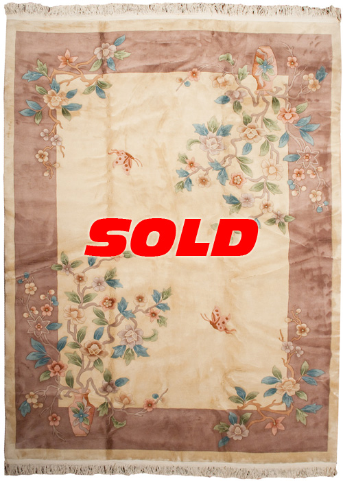 9×12 Art Deco Design Rug – SOLD