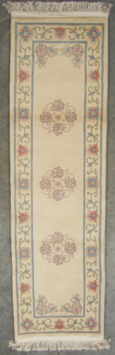 2x 9 Peking Design Rug Runner