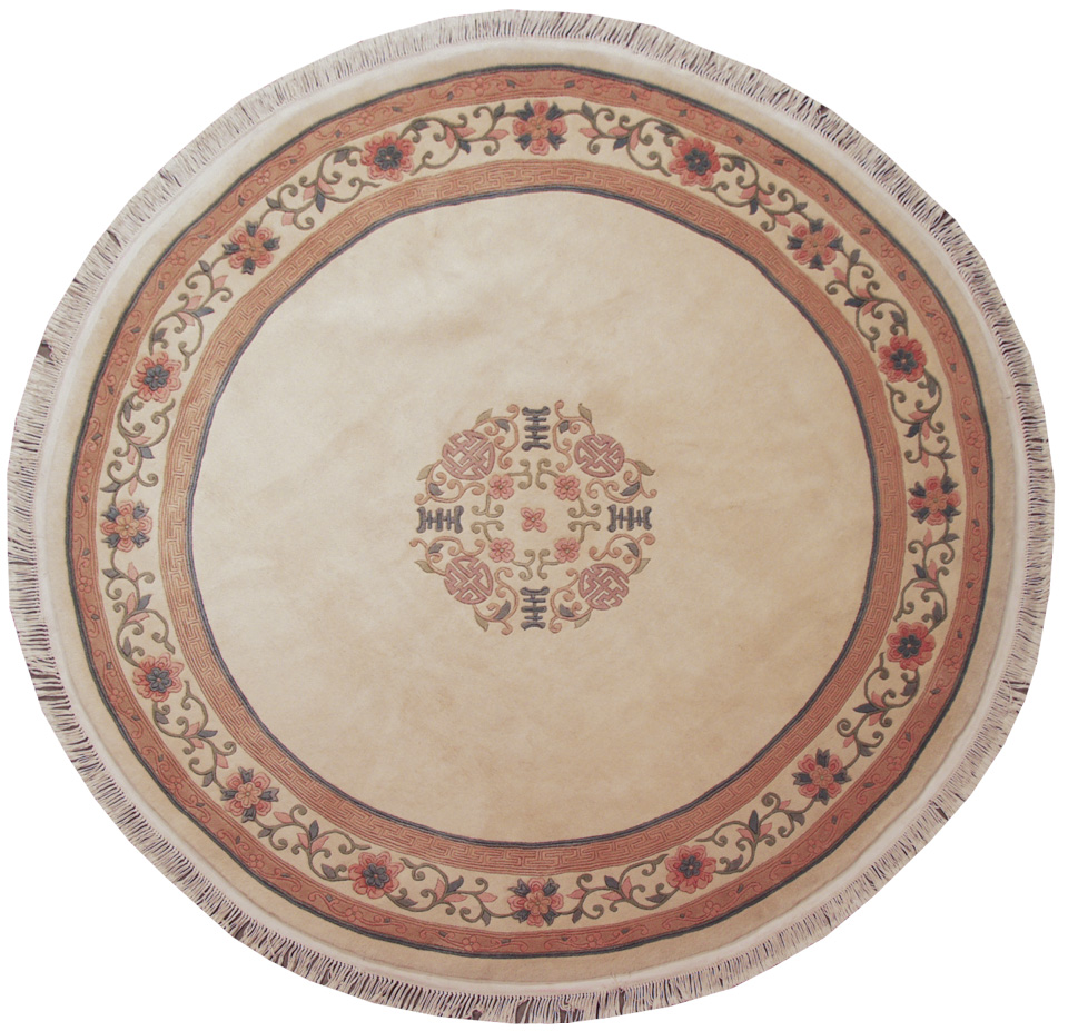 9x 9 Peking Design Round Rug