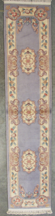 2x12 Aubusson Design Rug Runner