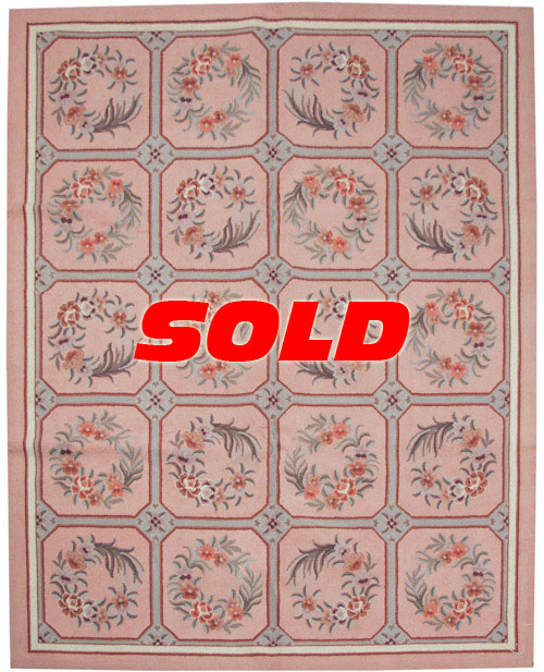 8×10 Portsmouth Design Rug – SOLD