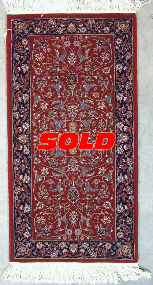 2x 4 Kashan Design Rug – SOLD