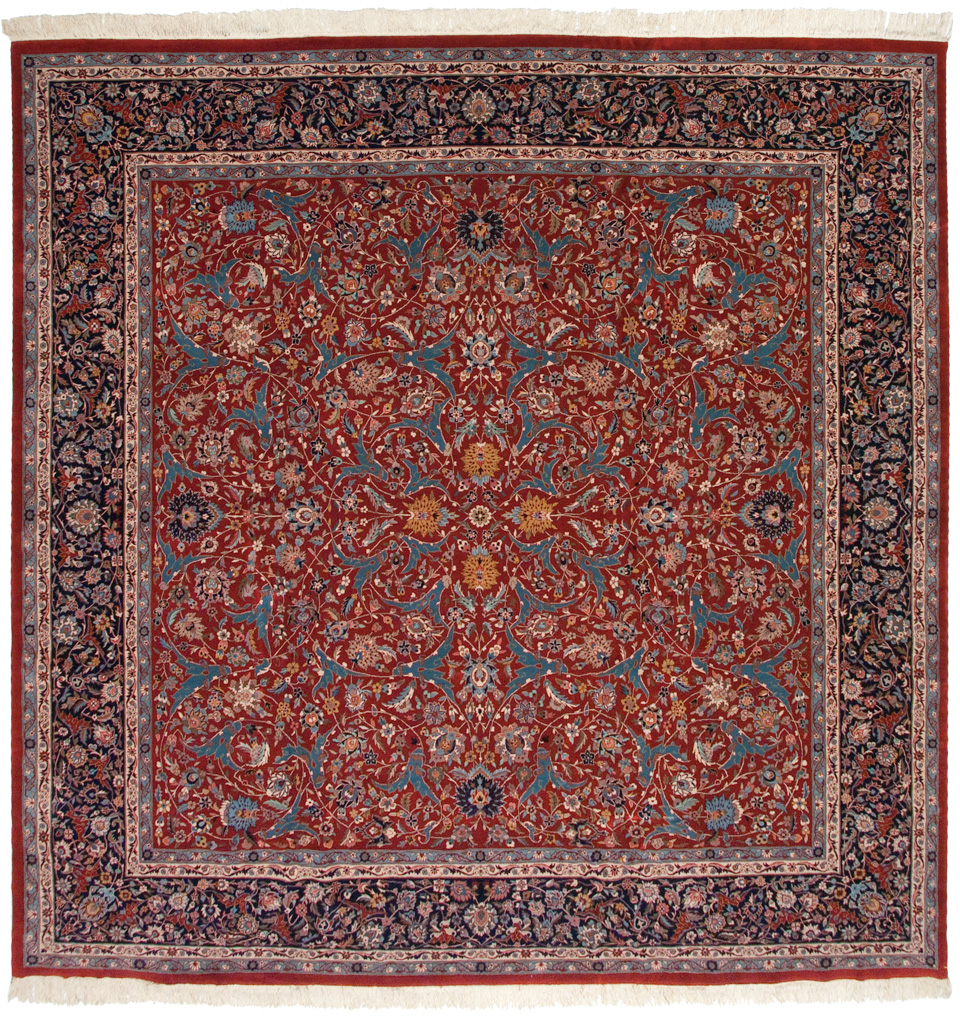 12×12 Kashan Design Square Rug