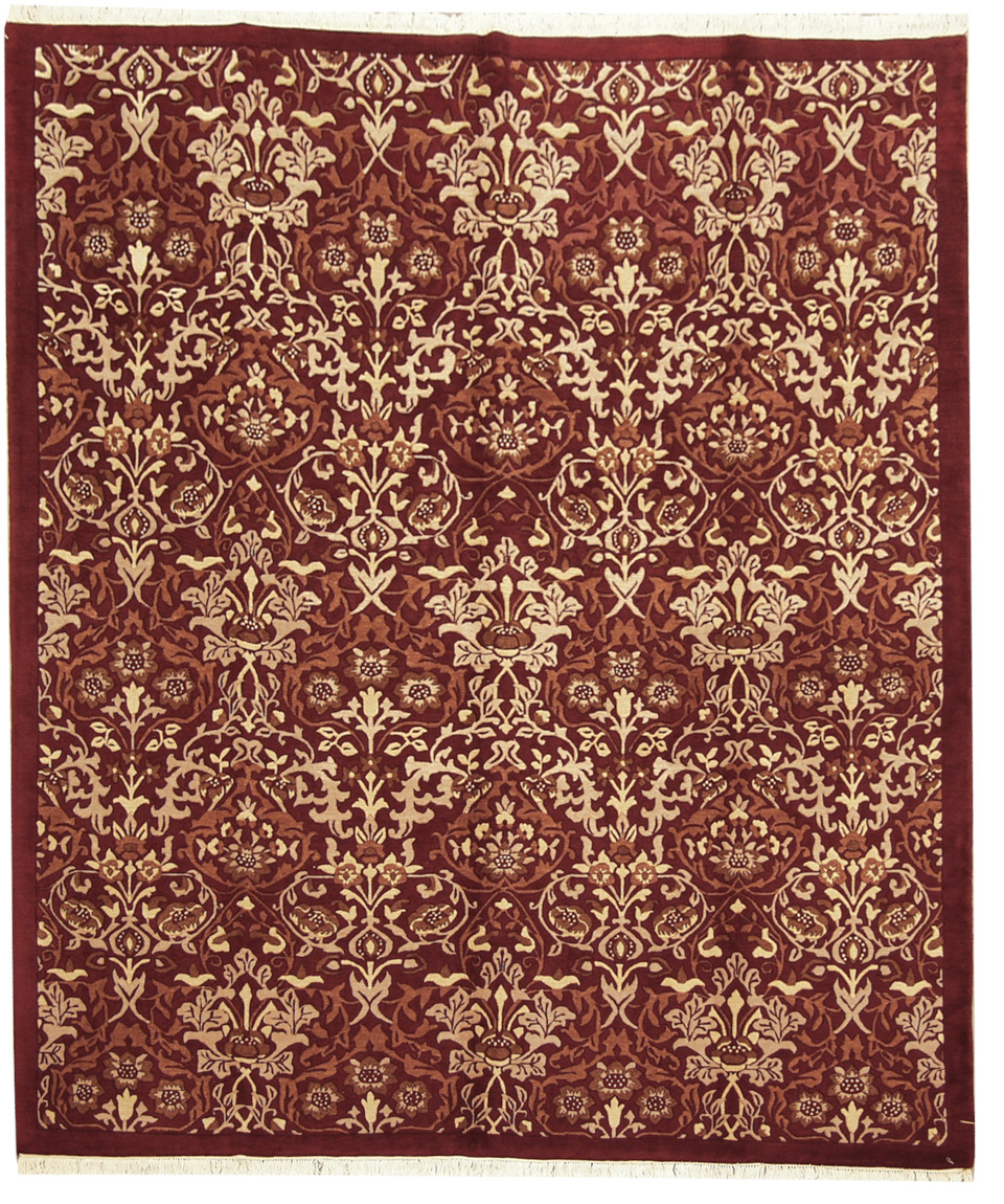 8x10 William Morris Design Rug