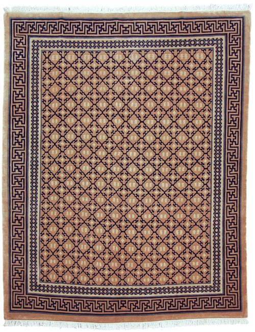 8×10 Diamond Design Rug