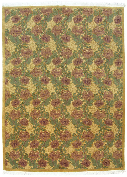 9x12 William Morris Design Rug
