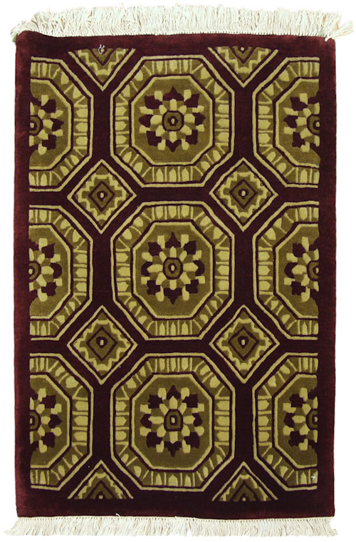 2x 3 Octagon Design Rug
