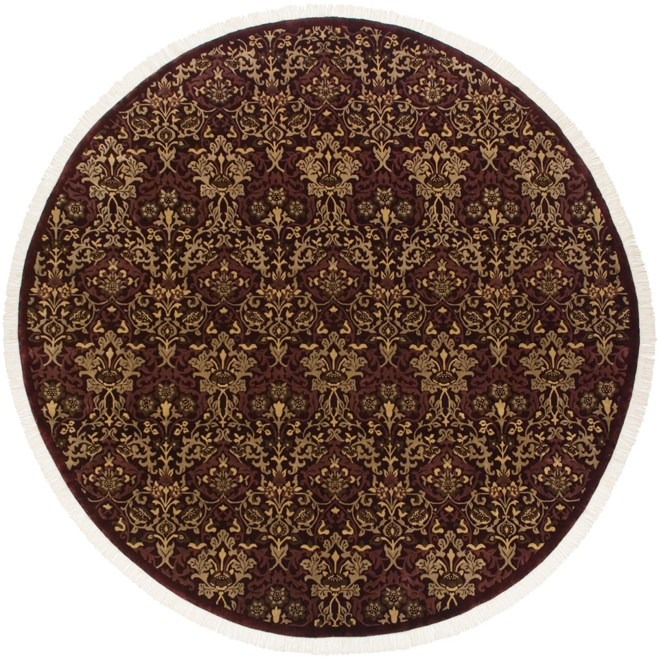 11x11 William Morris Design Square Rug