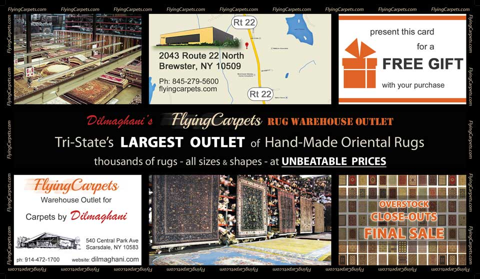 Rug Warehouse Outlet Postcard