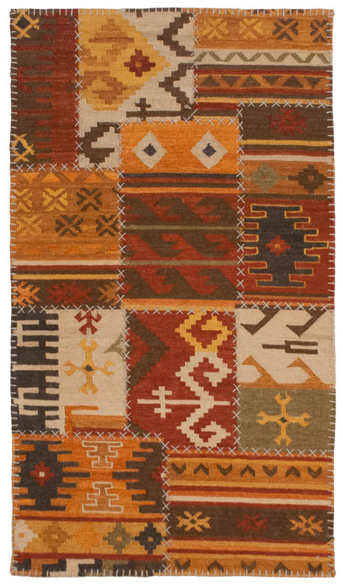 3×5 Patchwork Design Rug