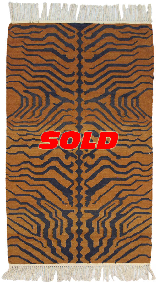 3x 5 Tiger Design Rug – SOLD