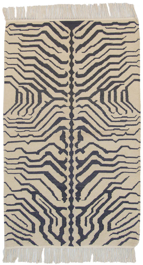 3x 5 Zebra Design Rug – SOLD