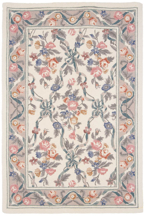 4×6 Floral Bouquet Design Rug