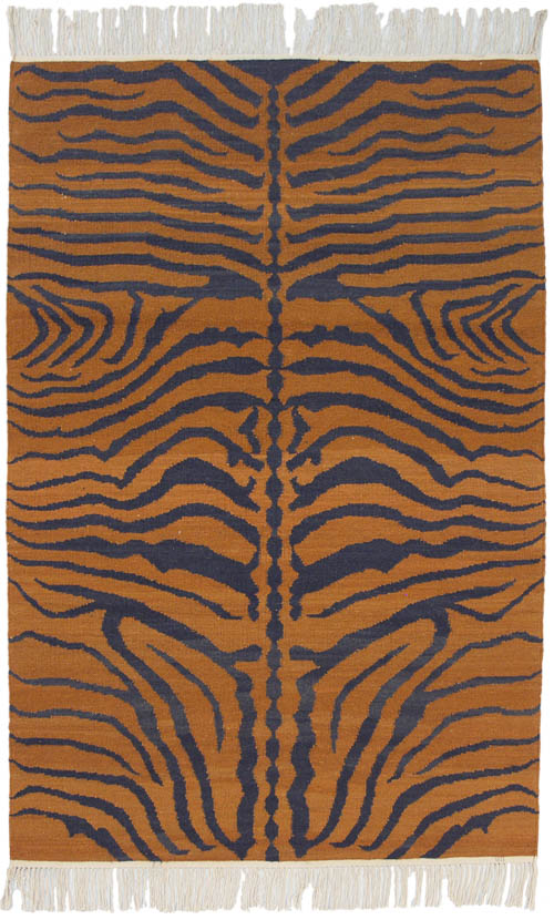 4x 6 Tiger Design Rug – SOLD