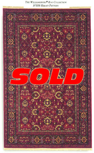 6x 9 Karastan Williamsburg Rug – SOLD