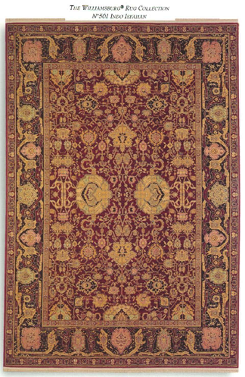 6x 9 Karastan Williamsburg Rug