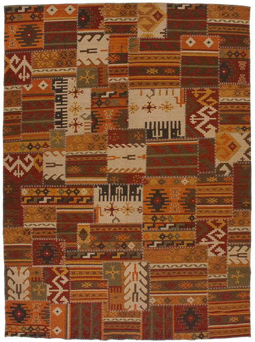9×12 Patchwork Design Rug