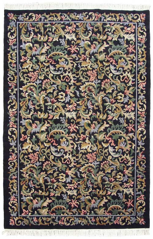6x 9 Needlepoint Design Rug
