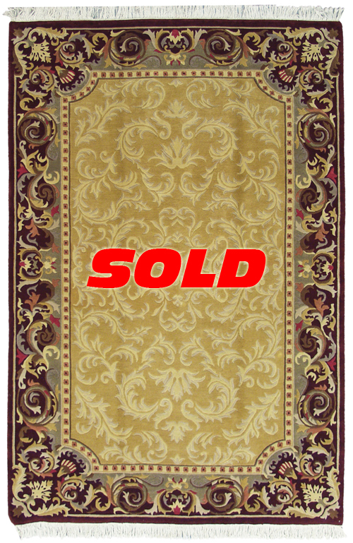 6x 9 Aubusson Design Rug – SOLD