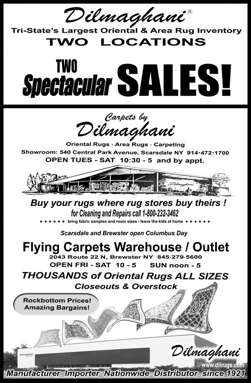 Fliying Carpets Outlet Newspaper Ad