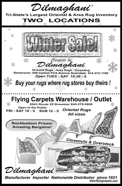 WinterSale Newspaper Ad