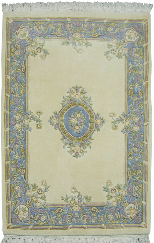 4x 6 Aubusson Design Rug