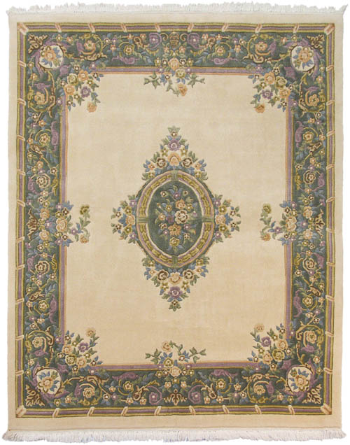 8x10 Aubusson Design Rug