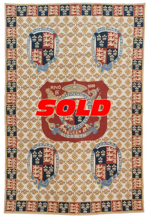 6x 9 Vintage Chain Stitch Rug – SOLD