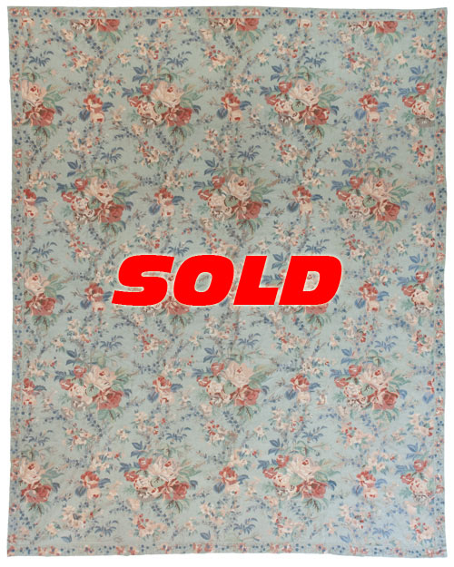 12×15 Vintage Chain Stitch Rug – SOLD