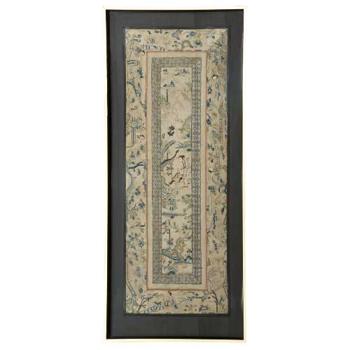 Chinese Silk Embroidery 1431 – Framed