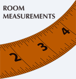 Be sure to bring room measurements!