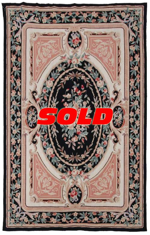 6x 9 Fine Needlepoint Rug – SOLD