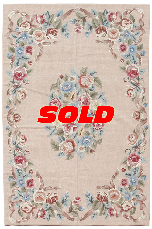4x 6 Fine Needlepoint Rug – SOLD