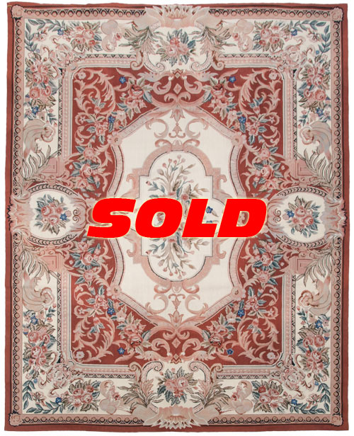 8×10 Fine Needlepoint Rug – SOLD