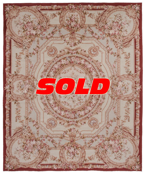 8×10 Needlepoint Rug – SOLD