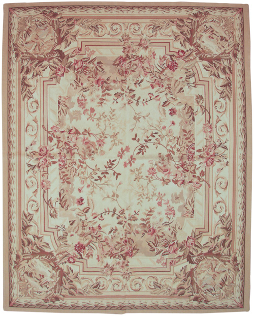 8×10  Aubusson Design Rug