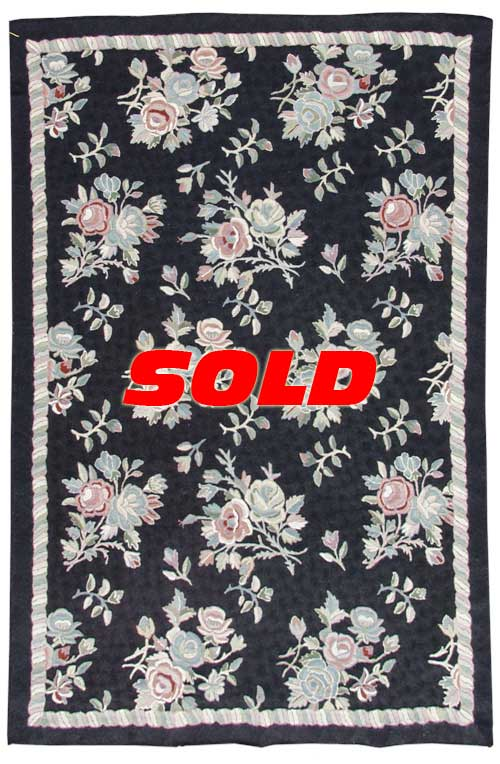 4x 6 Vintage Crown Kashmir Botidar Rug – SOLD
