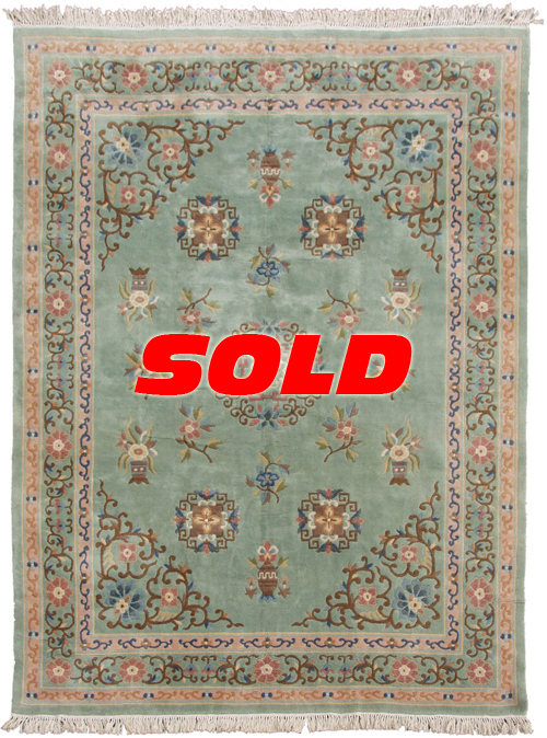 9×12 Peking Design Rug – SOLD