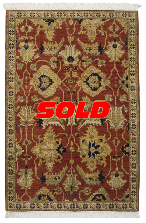 4x 6 Sultanabad Design Rug – SOLD