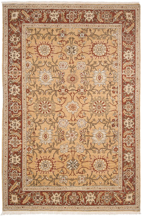6x9 Sultanabad Design Rug