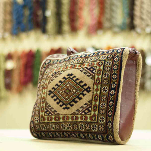 Turkman Design Vintage Carpet Bag Purse